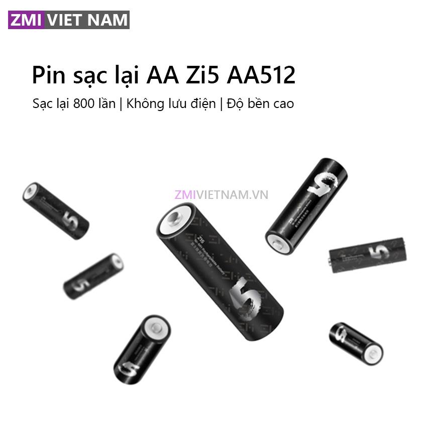 Bộ Pin Sạc Lại ZMI AA512