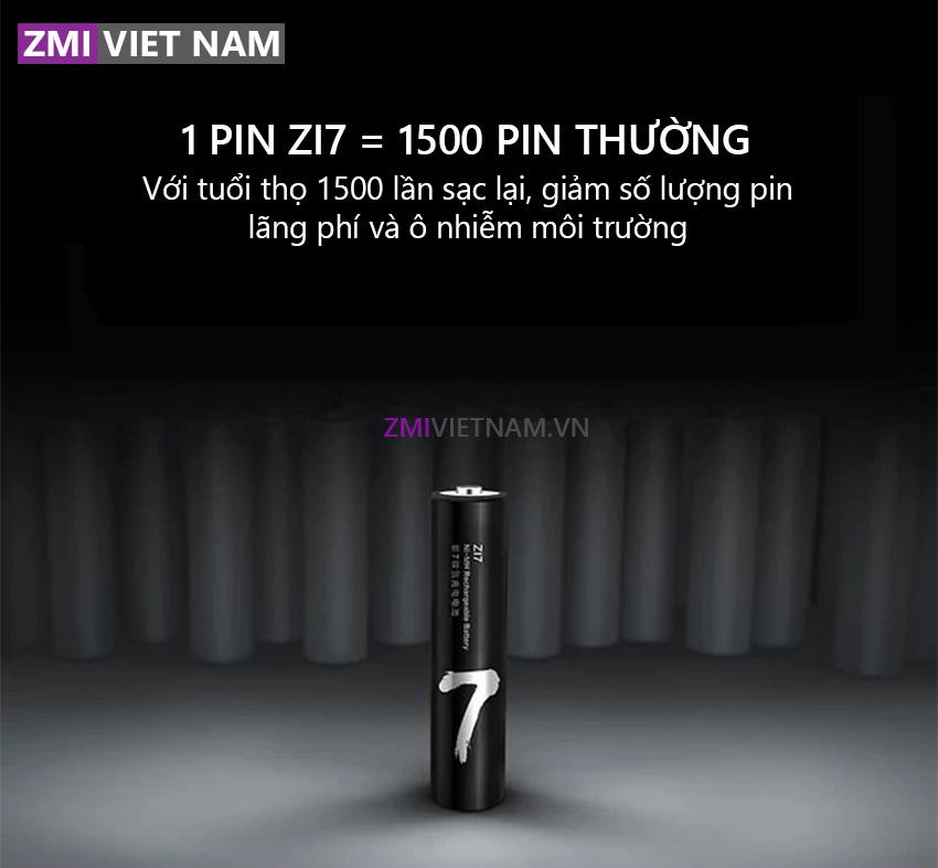 Bộ Pin Sạc Lại ZMI AA711