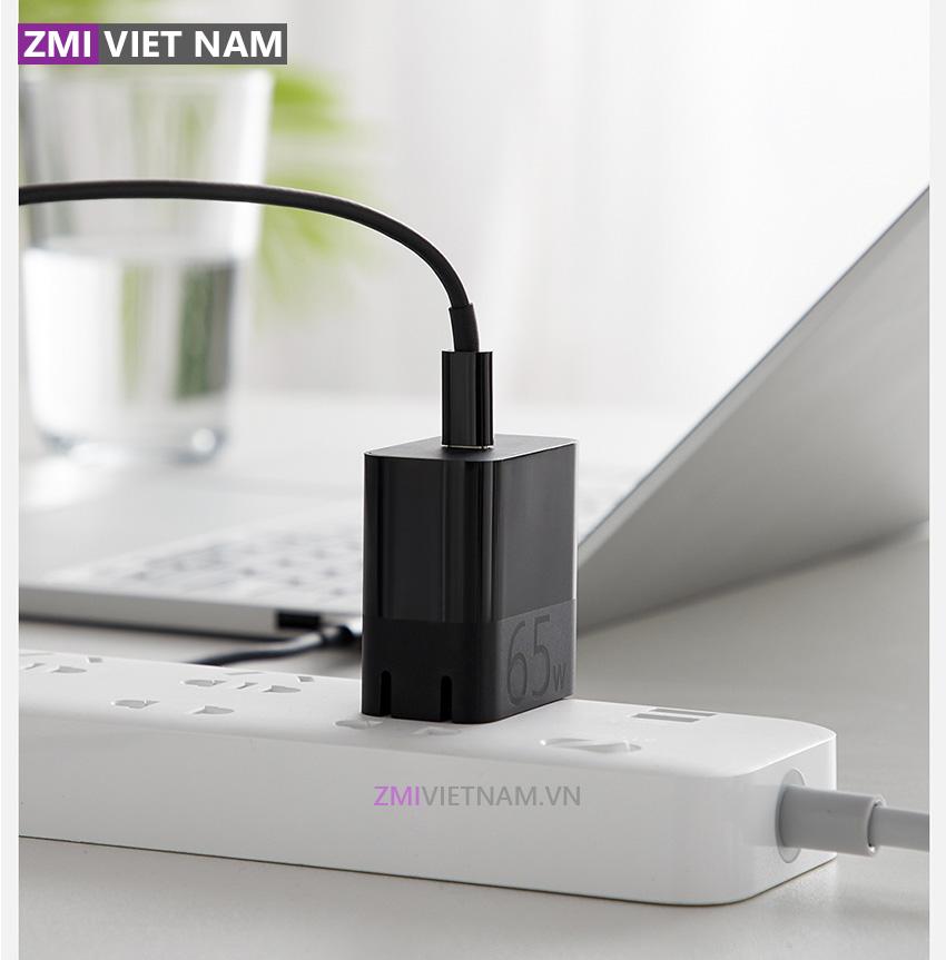 Củ Sạc Nhanh ZMI HA712 65W Chuẩn PD