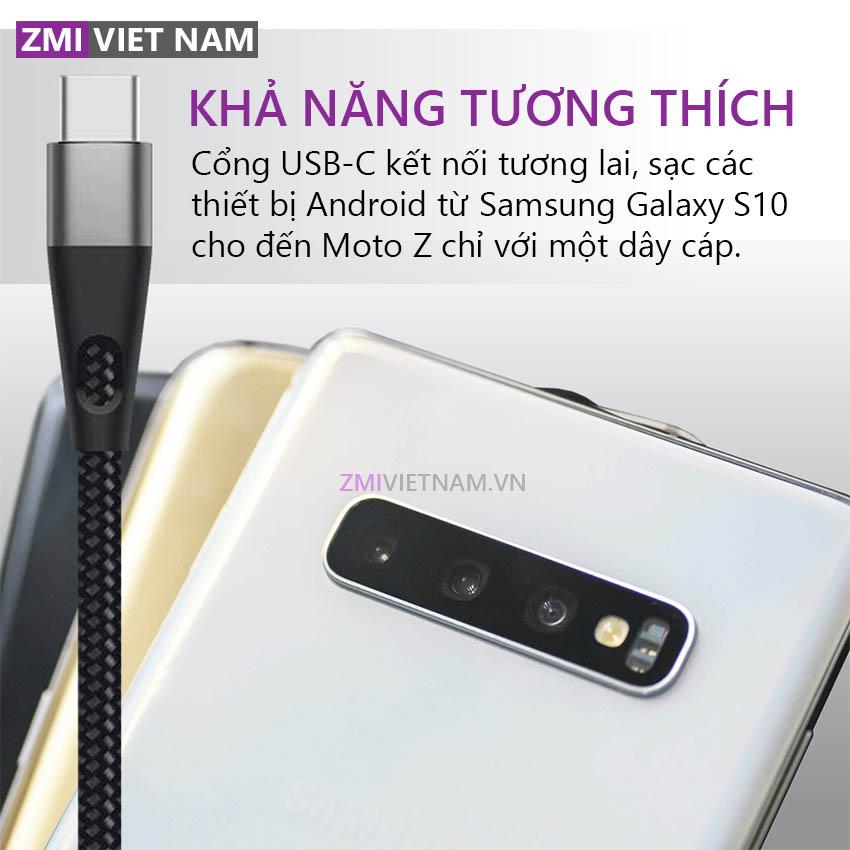Dây Cáp ZMI AL786 Type C Dài 2m